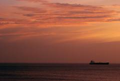 Santa Marta (isabelvaldesa) Tags: santa landscape atardecer mar colombia barco rosa paz playa paisaje marta caribe