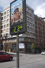 El tiempo en Oviedo (Jusotil_1943) Tags: termometro temperatura numeros 22 oviedo redcars