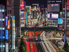 SHINJUKU (B Lucava) Tags: tokyo shinjuku kabukicho cityscape citylights urban lighttrail buildings