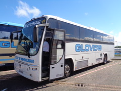 AIG4549 Glovers of Ashbourne in Blackpool (j.a.sanderson) Tags: aig4549 glovers ashbourne blackpool volvo b10m62 plaxton paragon 1999 lastpasssive dublin 99d74498 w998rru coach coaches