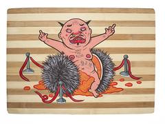 have plenty of guts (MrOGAY) Tags: canvas misterogay ogay love graffiti hiphop kimpa pug life lifestyle mrogay piece art fineart spraypaint street streetart style taipei tainan taiwan wall ugly badboy naked