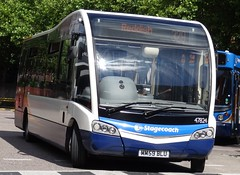 Stockport (Andrew Stopford) Tags: mm59blu optare solo sr stagecoach stockport bluebird