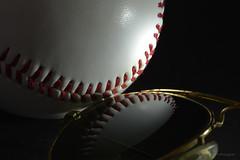 Baseball and Ray Ban (pro.henrik) Tags: macro baseball mondays macromondays