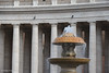 St. Peter's Square (gillesfrancotte) Tags: street italy vatican rome roma water fountain architecture nikon eau cityscape april nikkor rue avril fontaine italie citu 2012 urbain 80200 placesaintpierre d700