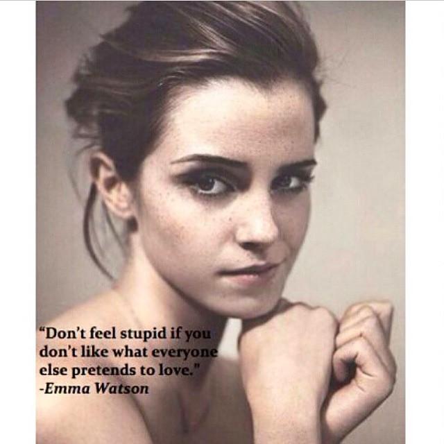 Inspirational. Happy Birthday, Emma Watson. _______________________________________#hbd #wcw #heforshe #inspiration #feminist #emmawatson