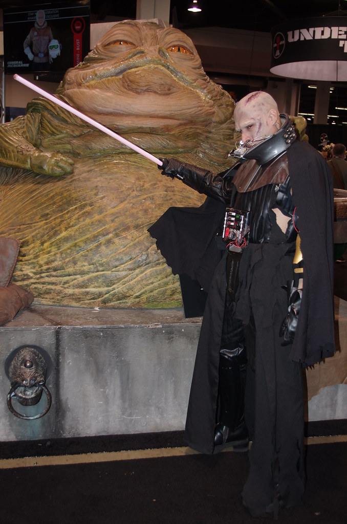 The World's Best Photos of cosplay and jabba - Flickr Hive ... Jabba The Hutt Cosplay