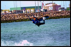 "Kitesurf ""El Arbeyal"" 28 Abril 2015 (LOT_) Tags: water switch team spain gijón air lot kiteboarding kitesurf jumps arbeyal ronix switchkites nitro3 ©lot"