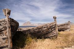DSC_0238d (veronica_pirrone) Tags: barca cofano monte trapani bonagia