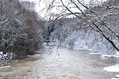 Pitkäkoski, River Vantaanjoki (Vantaa, 20120325) (RainoL) Tags: winter snow finland river geotagged march vantaanjoki u vanda fin vantaa 2012 uusimaa 201203 silvola 20120325 geo:lat=6026847700 geo:lon=2489242200
