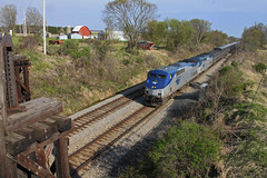 Number 7 (Hair_Farmer_184) Tags: wisconsin trains amtrak canadianpacific cp railroads passengertrain watertownsub milwmainline