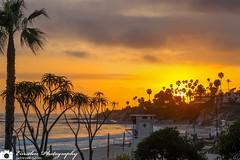 Laguna Beach Sunset Retouched