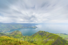 danau toba lake (sydeen) Tags: travel blue summer vacation sky mountain lake green tourism nature water beautiful grass rural sumatra indonesia landscape asian island volcano countryside spring high scenery asia view natural outdoor north exotic volcanic indonesian medan toba danau sumatera samosir