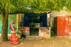 FQ9A6105 (gaujourfrancoise) Tags: africa portraits shops colored senegal coloré afrique boutiques traders nianing tradespeople commercants gaujour naïvepaintingspeinturesnaïves dibiteries