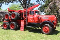 IMG_2802 (RyanP77) Tags: show california b white truck log model shiny trucker international chevy chrome r pete logger gmc peerless kw peterbilt ih kenworth cabover bullnose fruehauf