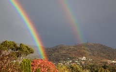 Twin rainbows (Geoff Main) Tags: rain rainbow hill australia act conder canonef24105mmf4lisusm canon6d