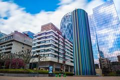 Le Moretti (Chakib.T) Tags: city urban paris colors architecture clouds movement nikon cityscape nd longexpossur d800e