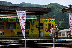 Tarumi Line #1 (Yorkey&Rin) Tags: family japan may olympus gifu rin 2016  em5 tarumirailway tarumiline   olympusmzuikodigitaled1250f3563ez t5140541 tarumistation