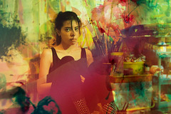 Emotion #29 (rhendi.rukmana) Tags: portrait art portraits canon photography manipulation soul gloom colourful artphotography
