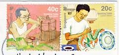 Singapore, May (postcardlady1) Tags: stamps briefmarken