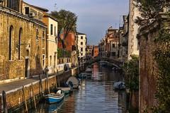 venezia 160403_248 (gmcvrphoto) Tags: barca ponte acqua venezia riflessi canale palazzi allaperto