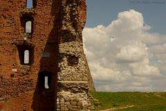 Ruins of Navahrudak Castle (Natali Antonovich) Tags: sky castle history architecture landscape style belarus oldest oldworld oldtime romanticism novogrudok navahrudak motherlandbelarus ruinsofnavahrudakcastle