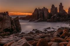 A Land Called Honah Lee DSC_3727 (BlueberryAsh) Tags: ocean longexposure sunset seascape beach wow nikon rocks phillipisland thepinnacles puffthemagicdragon abigfave milkysea nikond750