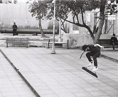 street spirit (metarslan) Tags: street blackandwhite film monochrome 35mm canon grain citylife streetphotography istanbul ollie skate skateboard fujifilm analogue grainy ilford analogphotography bnw filmphotography analoguephotography 3mmfilm metarslan