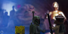 """good negotation bounty hunter"" (bricklegowars) Tags: brick starwars bobafett jabba legostarwars c3po bountyhunter jabbaspalace boussh bricklegowars"