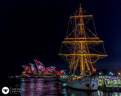 ship (The Photo Smithy) Tags: night lights sydney australia sydneyharbour vivid2016