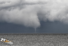Waterspout on Lake Winnebago 6/15/16 (Winglet Photography) Tags: storm weather wisconsin warning canon earth 7d tornado stockphoto waterspout severe warned wingletphotography georgewidener georgerwidener