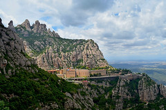 Montserrat (satishsa) Tags: montserrat barcelona spain hiking mountains monastery