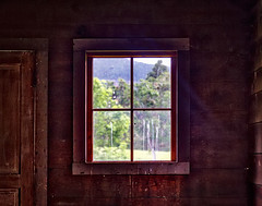 Peering Inside Buncom  Country Store (Marcia Fasy) Tags: flowers plants mountains places fieldtrip wildflowers valleys