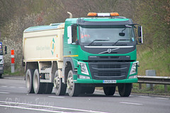 Volvo FM Midland Quarry Products AV65 BYK (SR Photos Torksey) Tags: road truck volvo tipper transport lorry commercial vehicle products fm quarry freight midland logistics haulage hgv lgv
