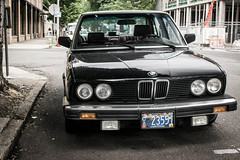 Classic BMW (pillarsoflight) Tags: classic beauty oregon 35mm portland prime aperture nikon adobe bmw pdx 18 pnw lightroom d3300