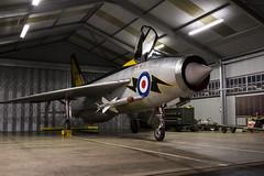 BAC Lightning F3 - 30 (NickJ 1972) Tags: night photo shoot photoshoot aviation c ground nightshoot f3 lightning lpg proving bac 2016 englishelectric britishaircraftcorporation bruntingthorpe xr713