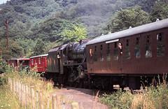 Grosmont Class 5 5428 Aug 75 C2223 (DavidWF2009) Tags: grosmont nymr lmsr class5 5428 northyorkshiremoorerailway