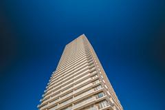 Kobe_1 (hans-johnson) Tags: blue sky white building japan architecture skyscraper port canon eos bluesky kobe  nippon kansai nihon  bldg hyogo     1635 kinki  portofkobe kobeport   vsco  5d3 vscofilm vscocam