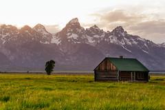 Grand Teton National Park (Atibordee_K) Tags: park mountains nature america forest us unitedstates grand national teton the