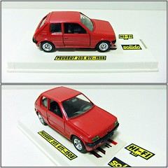PEUGEOT 205 GTI - SOLIDO HI-FI (RMJ68) Tags: peugeot 205 gti solido hifi diecast coches cars juguete toy 143