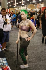 Phoenix Comicon 2016 Cosplay (V Threepio) Tags: girl female costume cosplay posing dressup tattoos cosplayer dccomics comiccon hahaha comicconvention greenhair 2016 crossplay thejoker geeklife 35mmlens suicidesquad phoenixcomicon canon7d rule63 phxcc tonidarling