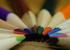 Macro Mondays - stripes (isco786) Tags: pencil colorful stripes colored macromondays