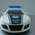 Audi R8 - Chevrolet Camaro - Mercedes Benz SLS - Majorette Dubai Police Die Cast 5 Pack