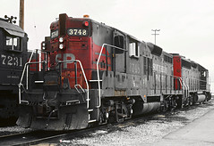 6 Southern Pacific GP9s (railfan 44) Tags: southernpacific