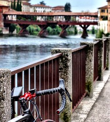 Let your bike take you places (Fabrizio Malisan Photography @fabulouSport) Tags: voyage architecture architettura city italien italie tourisme tourism tour riding ride exploring discover places viaggiare viaggi travel cycletouring legno wooden oldbridge bridge pontevecchio brenta veneto turismo cicloturismo bicidacorsa bicicletta bicycle velo cyclist cycle ciclista ciclismo cycling roadcycling roadbike bike bici bassanodelgrappa bassano italia italy