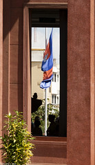 Phnom Penh,Cambodia Flag (allentimothy1947) Tags: travel cambodia foreign