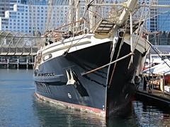 IMG_7995 Tenacious, The Bow. (Boat bloke) Tags: sydney australia tallship square rigger ship timber boat wood wooden sea ocean darling harbour harbor tenacious canon sx50hs