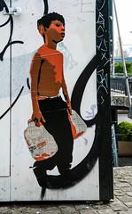 HH-Wheatpaste 2992 (cmdpirx) Tags: hamburg germany reclaim your city urban street art streetart artist kuenstler graffiti aerosol spray can paint piece painting drawing colour color farbe spraydose dose marker stift kreide chalk stencil schablone wall wand nikon d7100 paper pappe paste up pastup pastie wheatepaste wheatpaste pasted glue kleister kleber cement cutout