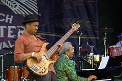 Allen Toussaint at French Quarter Fest 2015, Day 1, Thursday, April 9