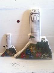 Coit Tower Plush Pillow Toys
