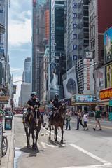 New York Mounted Police (Oleg.A) Tags: nypd police street usa newyork megalopolis